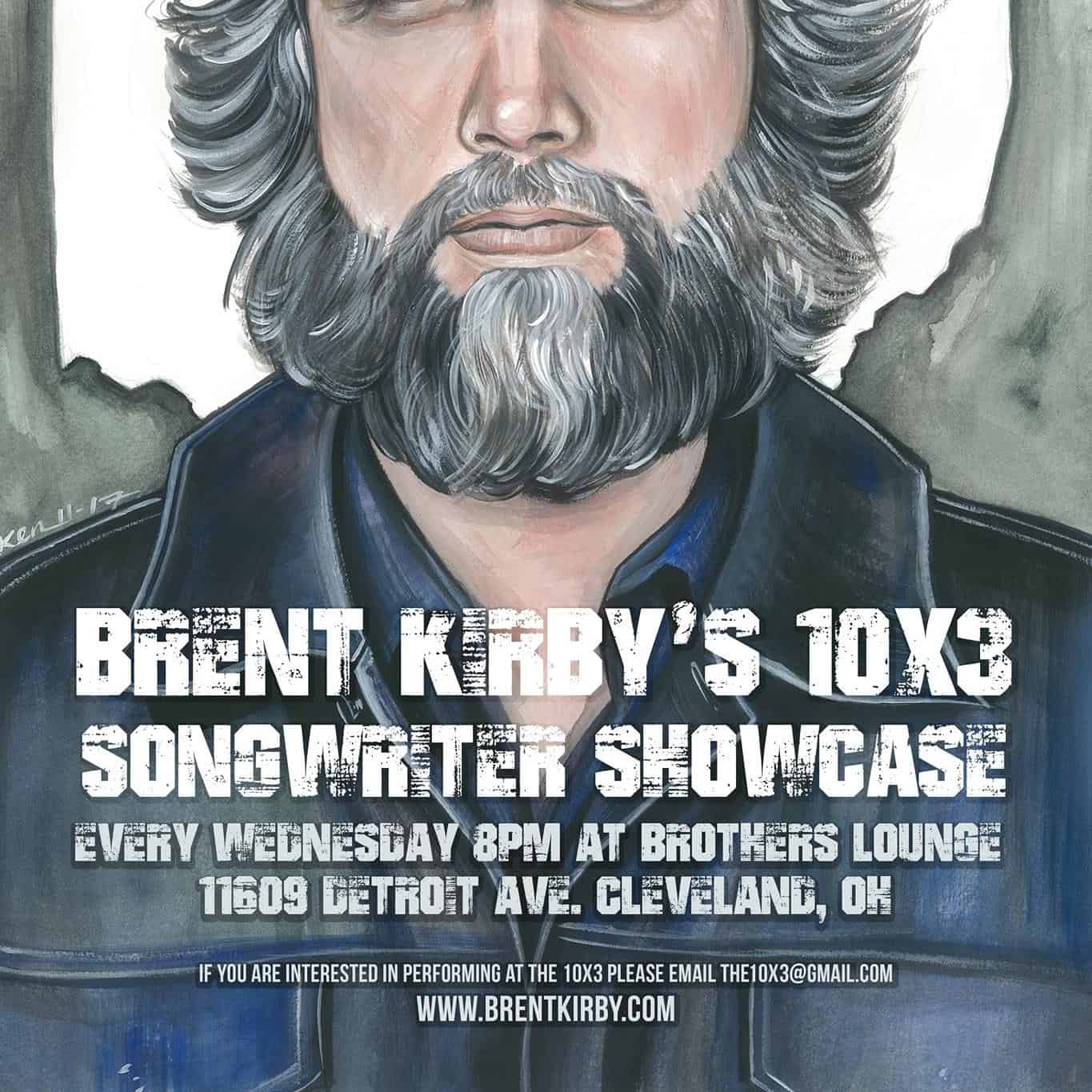 James @ Brent Kirby's 10x3 @ Brother's Lounge